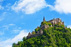 Top of the Hochosterwitz castle Stock Photography