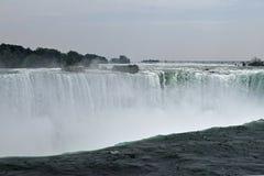 Top Of Horseshoe Fall Niagara Falls Ontario Canada Royalty Free Stock Photo