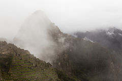 Top of Huayna Picchu Stock Photos