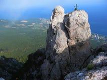 Top of I-Petri hill, Crimea, Ukraine. Stock Image