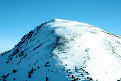 Top of the ilgaz mountain Stock Images