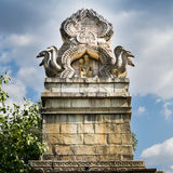 Top of an Indian temple. Royalty Free Stock Photography