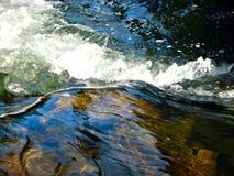 On Top of Inonoaklin Falls Royalty Free Stock Photo