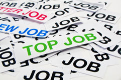 Top job offer Royalty Free Stock Photo