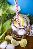 Top of juice mug Stock Photography