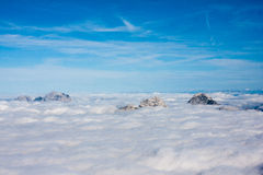 Top of Julian Alps Stock Image