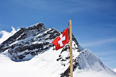 Top of the Jungfrau Royalty Free Stock Photos