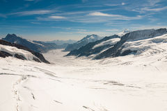 Top of Jungfrau, Switzerland Stock Photos