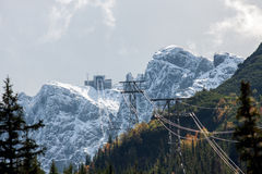 Top Kasprowy in the Polish Tatra Mountains Royalty Free Stock Photography