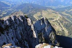 Top of Kleiner Donnerkogel, Alps Stock Photos