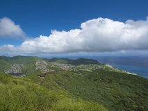 Top of Koko Head Royalty Free Stock Photos