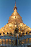 Top of Kuthodaw pagoda Stock Photography