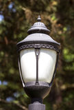 Top of a Lamppost Stock Images