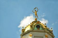 Top of lantern tower Royalty Free Stock Photos