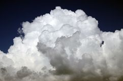The top of a large cumulus cloud (c&s) Royalty Free Stock Photography