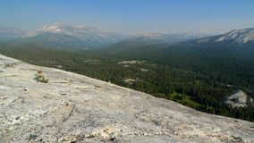 Top of Lembert Dome, Yosemite Royalty Free Stock Image