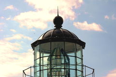 Top OF Lighthouse. Taken midafternoon.Bonita Lighthouse,BonitaPoint,Ca stock photos