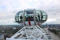 Top of London Eye Stock Image