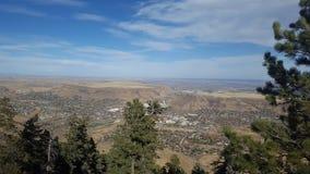 On top of Lookout Mountain Colorado Stock Photos