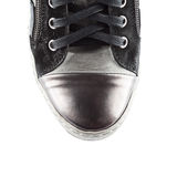 Top of male shoe Royalty Free Stock Image