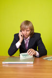 Top manager. Stock Photo