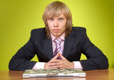 Top manager. Royalty Free Stock Image