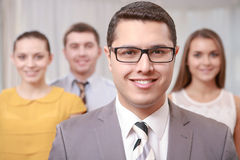 Top manager at the meeting Stock Photography