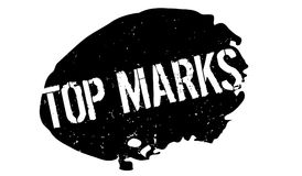 Top Marks rubber stamp Stock Images