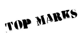 Top Marks rubber stamp Stock Photos