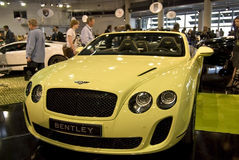 Top Marques Monaco 2010 - Bentley Stock Photo