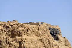 Top of Masada stronghold, Israel. Stock Photo