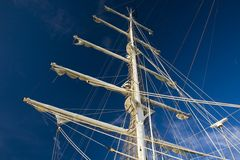 Top mast Stock Images