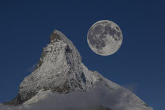 Top of matterhorn Royalty Free Stock Images