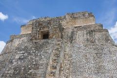 Top of Maya pyramid Royalty Free Stock Image