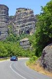 Top Meteora monastery Stock Image