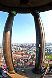 Top of the Michel, the most scenic church in Hamburg Stock Images