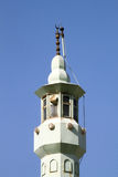 Top of minaret Stock Image