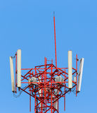 Top of mobile telephone antenna Stock Photography