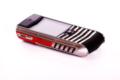 A top model of phone. A top model of the cell phone, isolated Royalty Free Stock Photo