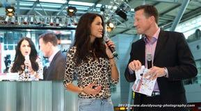 Top Model Rebecca Mir Stock Image