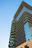 The top of modern high rise building. In Tel Aviv Royalty Free Stock Photos
