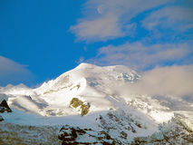 The top of Mont Blanc. Stock Image