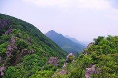 Top of mounain at summer. Travelling at top of mounain at south china Royalty Free Stock Photography