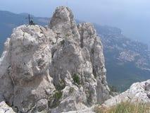 On top of mount AI-Petri. Crimea. On top of mount AI-Petri, Crimea stock photos