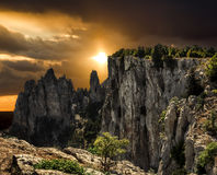 The top of Mount Ai-Petri in Crimea Stock Images