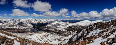 The Top of Mount Bierstadt Royalty Free Stock Photography