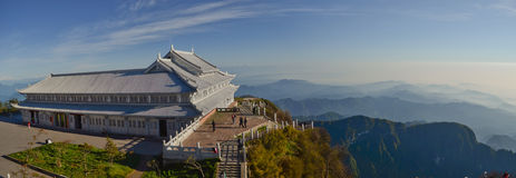 Top of Mount Emei Royalty Free Stock Photo