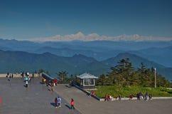 Top of Mount Emei Royalty Free Stock Photo
