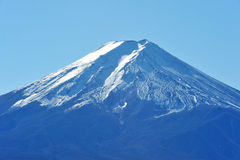 Top of mount fuji Royalty Free Stock Photo