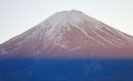 Top of the Mount Fuji Stock Photography